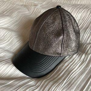 Metallic EXPRESS baseball hat